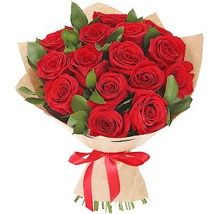 """Цветы на 14 февраля - Букет """"Амур"""""""